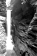 Close-up of Cavern Cascade
